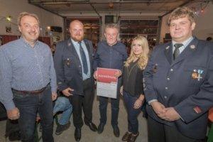 Auszeichnung vom Landesfeuerwehrverband Bayern e.V.