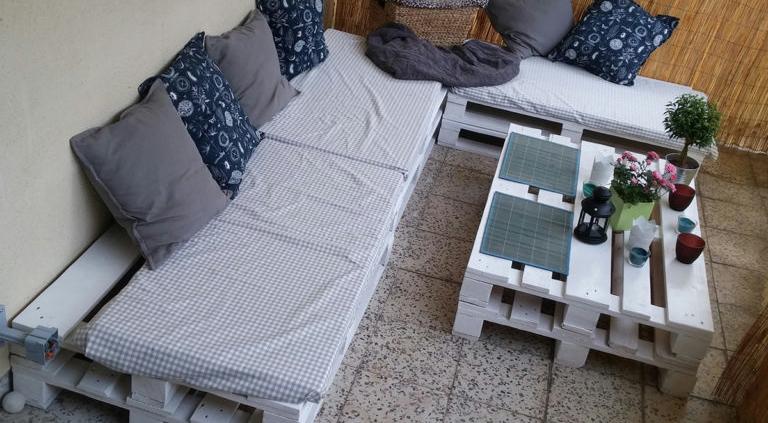 Möbelbau aus Paletten von Hochfranken Holz 2
