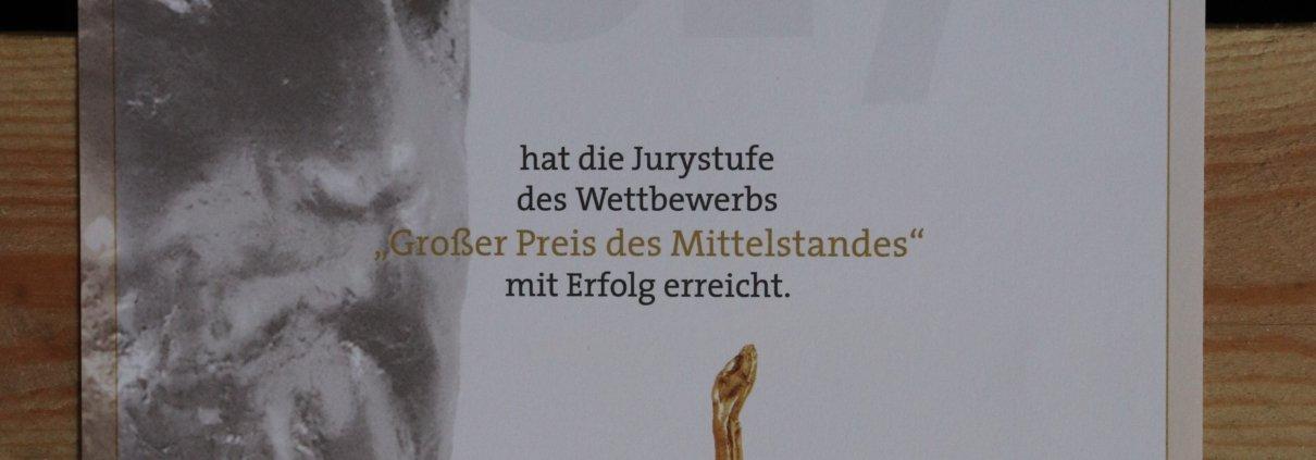 Jurystufe des großen Preis Mittelstand erreicht 7