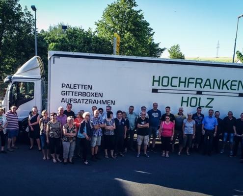 Besuch der Freien Wählervereinigung Köditz und unserem Bürgermeister 2